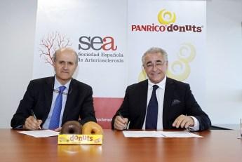 Panrico Donuts y SEA sociedad española arteriosclerosis