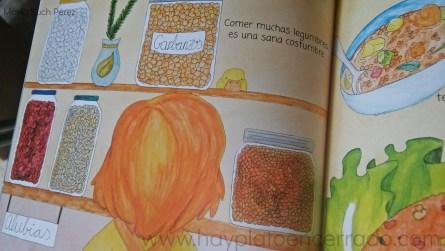 cuento infantil saludable legumbres