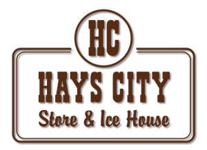 Hays City Store and Ice House Logo