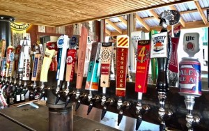 Hays City Store and Icehouse , 52+ beers on tap, wood fired pizza oven