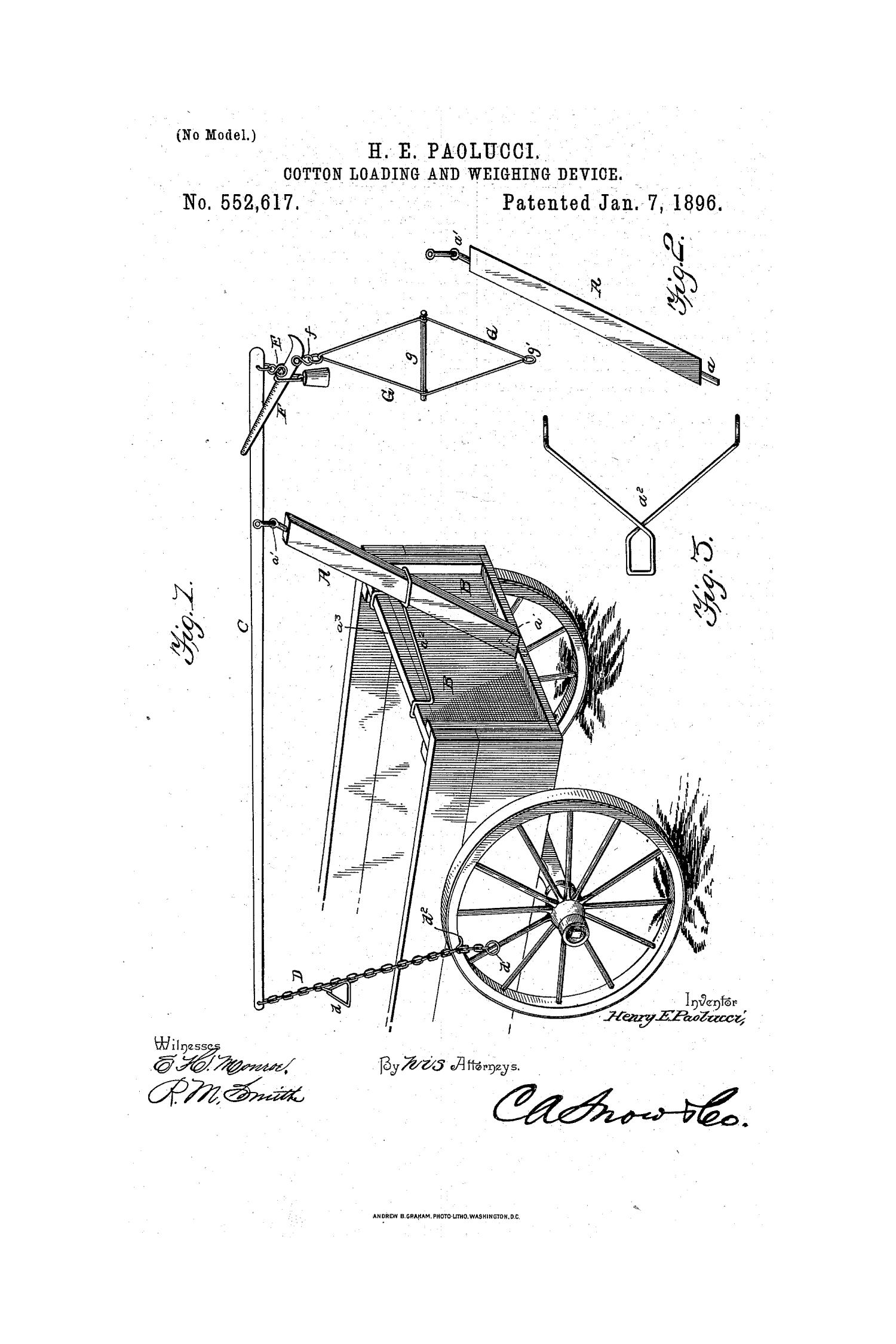 Cotton Loading And Weighing Device Diagram Hays County