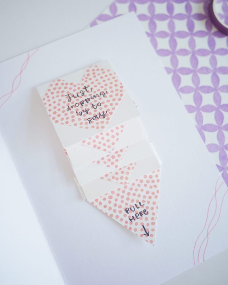 Valentine's Day Card DIY Tutorial