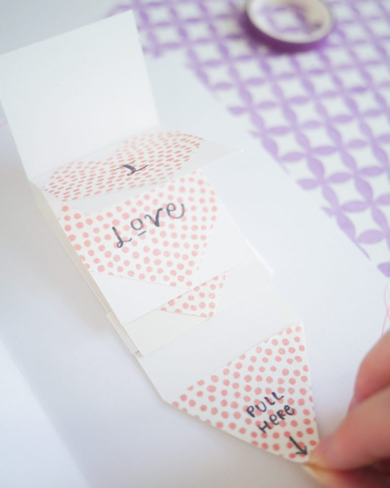 Aesthetic Valentine's Day Card DIY Tutorial for Love and Friendship