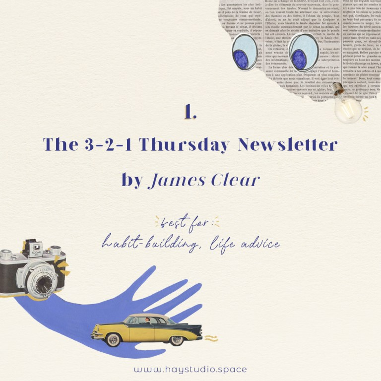 Free Inspiring Newsletters: #1 - James Clear