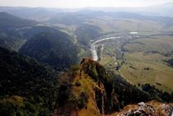 A Dunajec a Korona-hegyről