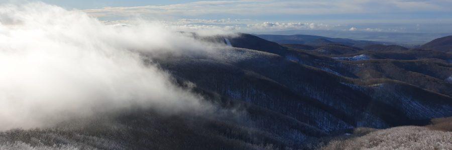 Felmászni egy hófödte vulkánra