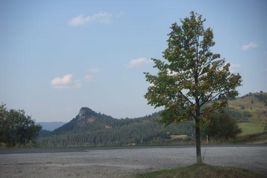 A Holló-kő az Erdősi-hágóból