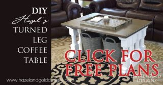 turned leg coffee table social media image free plans