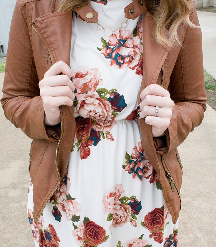 fall fashion floral
