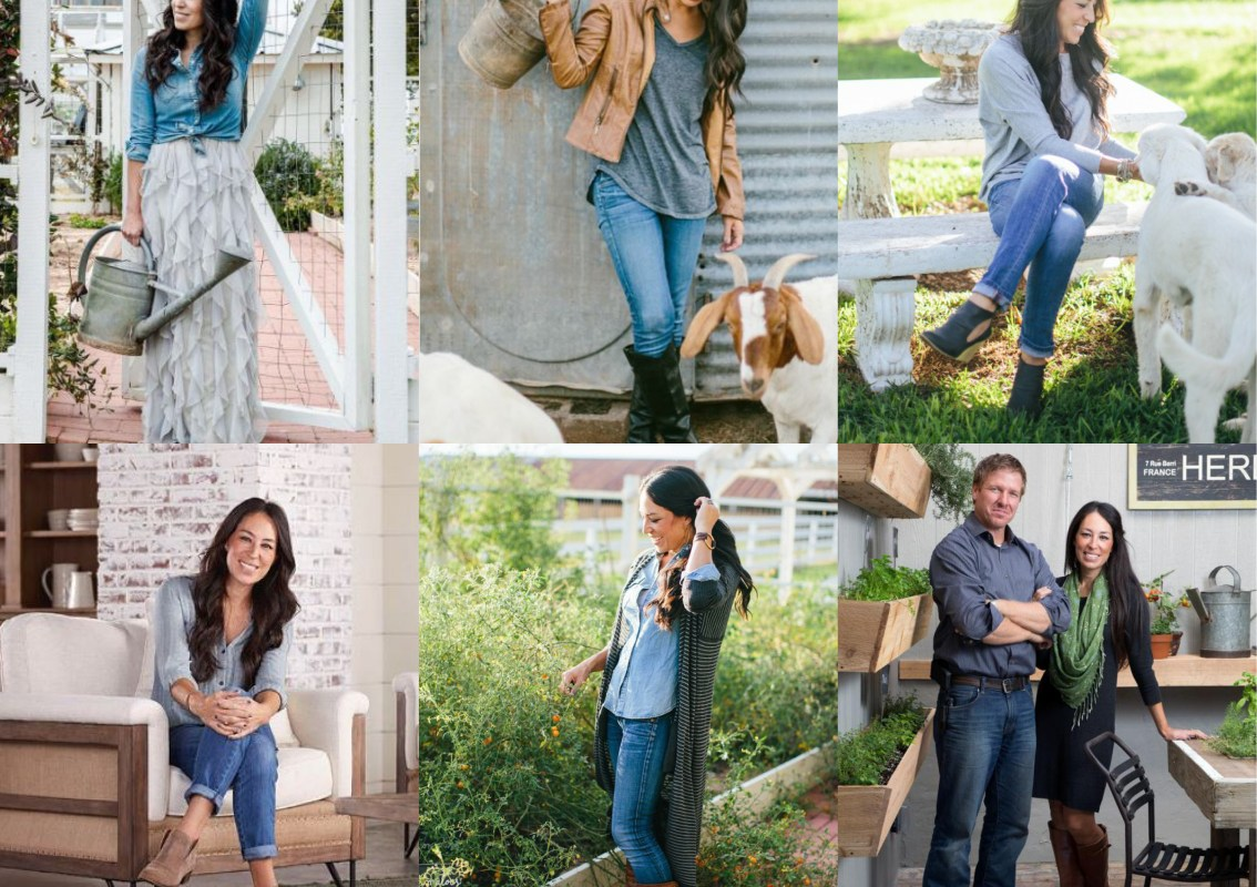 A guide to Joanna Gaines wardrobe