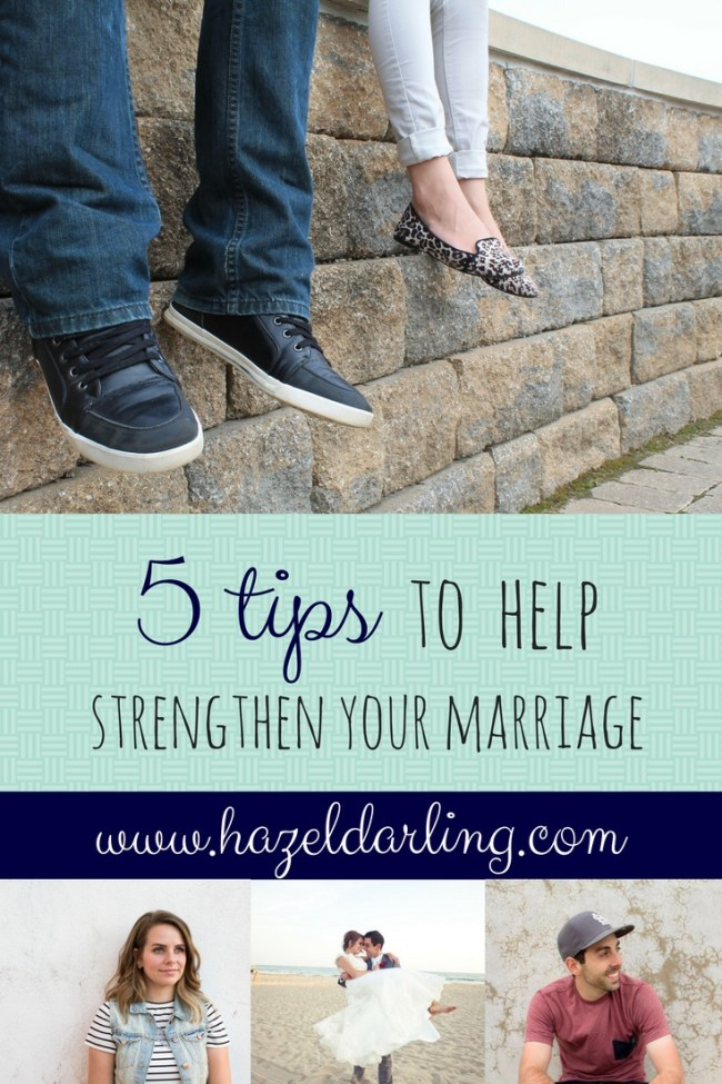 5 tips for a happy marriage!