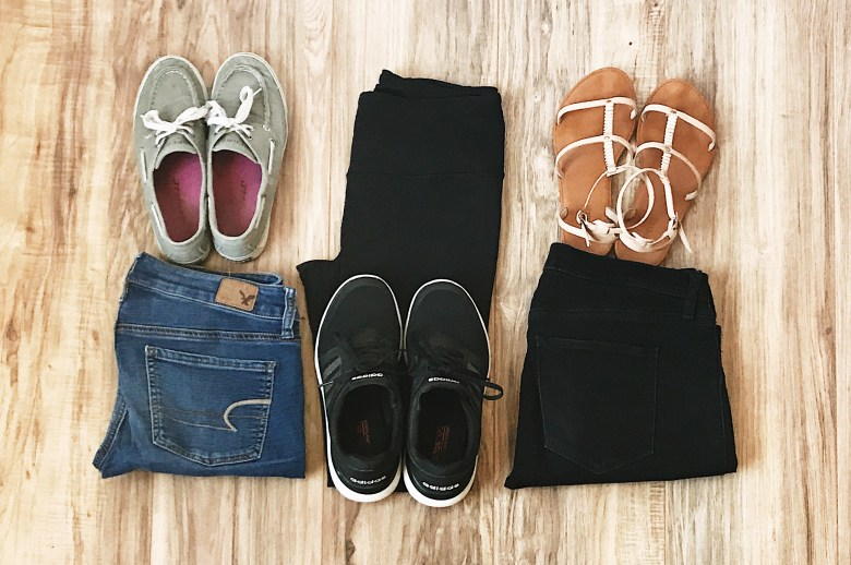 What clothing I packed for my month in Europe