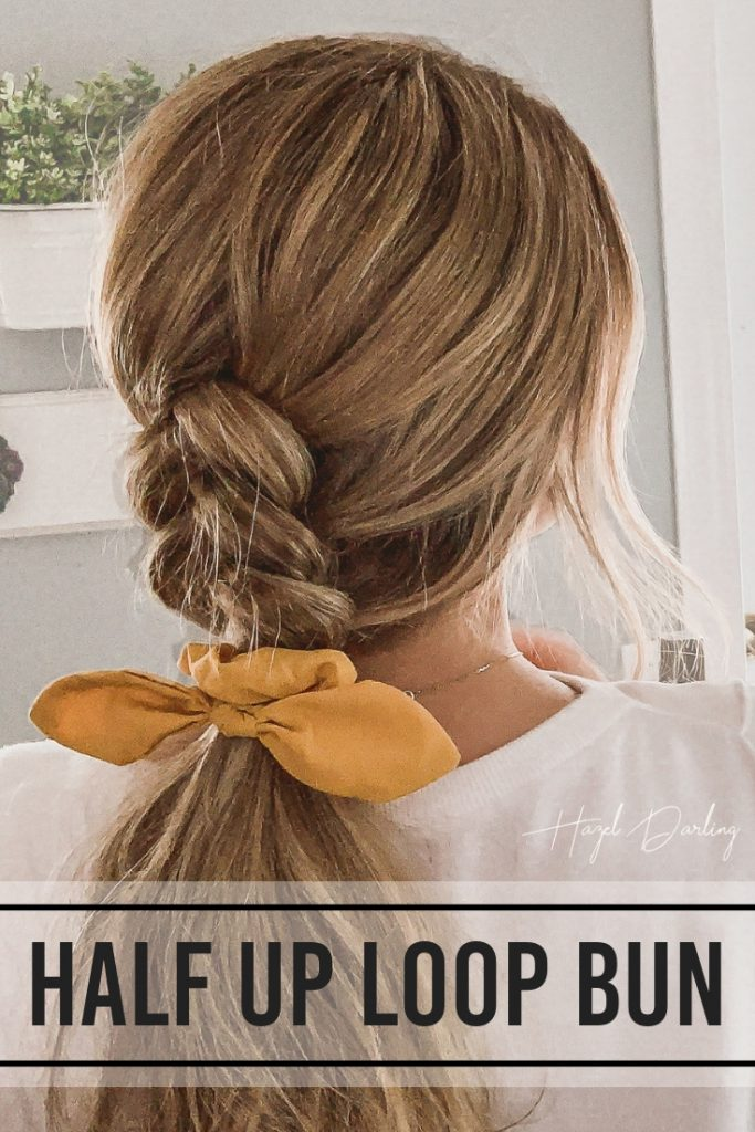 Learn how to braid and wear the cutest style, a dutch braided ponytail! All you need is a hairtie, a scrunchie if you want, and some bobby pins....