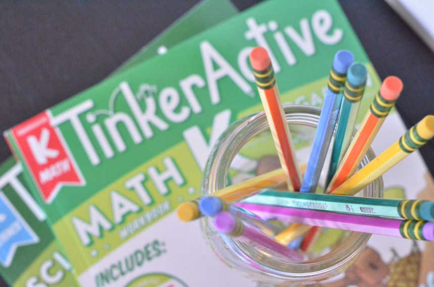 Introducing TinkerActive! WORKBOOKS