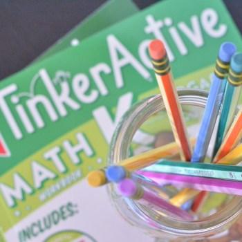 Introducing TinkerActive! WORKBOOKS