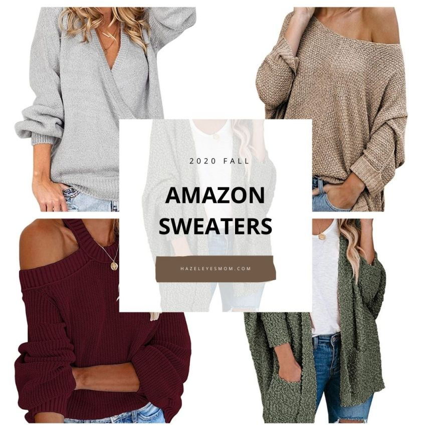 Amazon Sweaters – FALL 2020