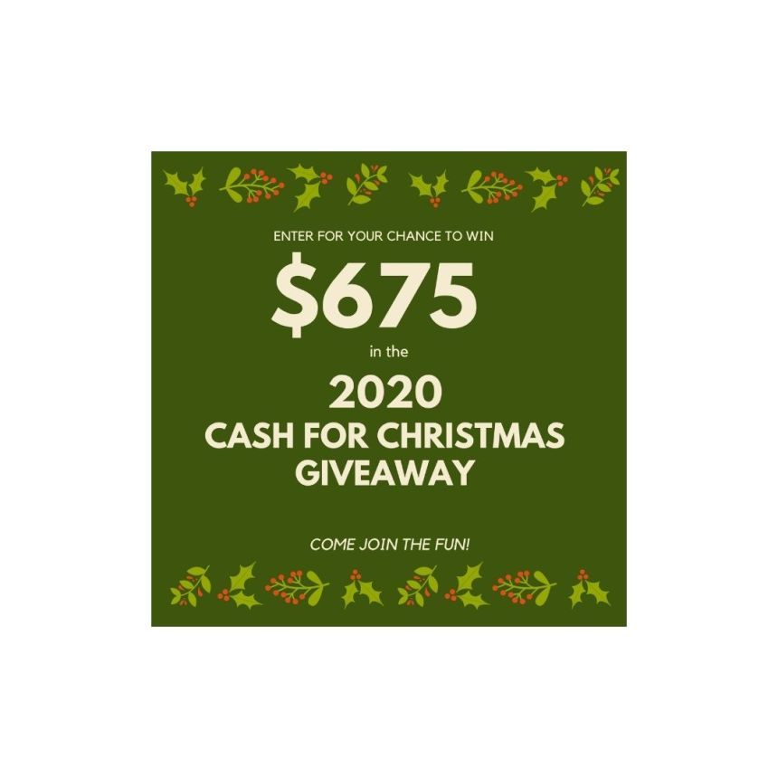 CASH FOR CHRISTMAS GIVEAWAY 2020