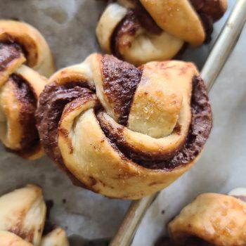 Nutella Chocolate Twists