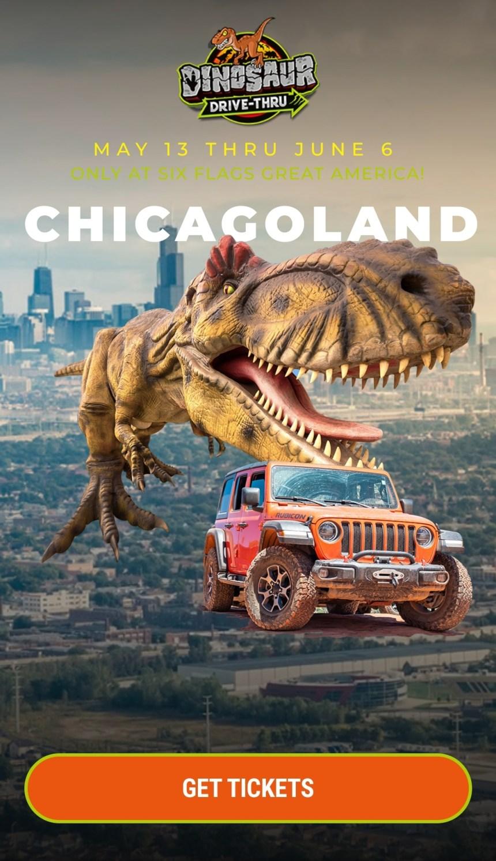 Dinosaur Drive-thru – Gurnee, IL
