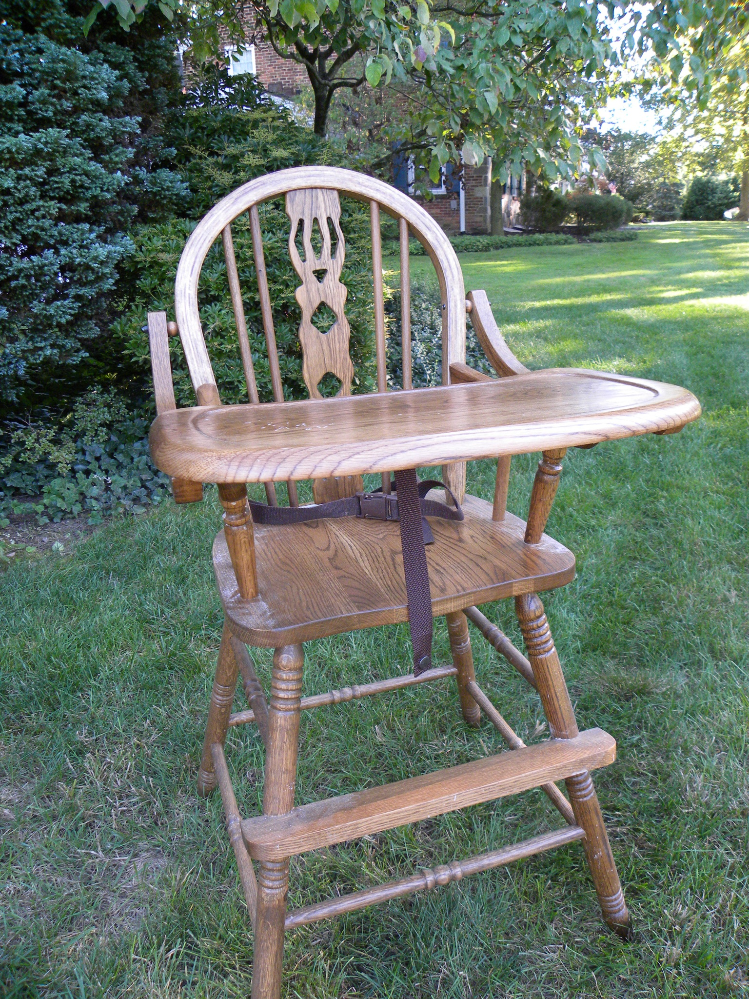 old fashioned birthing chairs apartment size recliner a vintage high chair gets an exciting new life hazel
