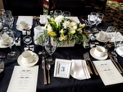 Hazelmere Garden White & Black Wedding(2) (1)