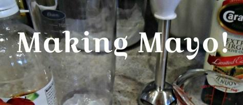 Mayo making process