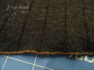 trim along stay stitching