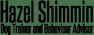 Hazel Shimmin Dog Trainer and Behaviour Advisor Cheshire