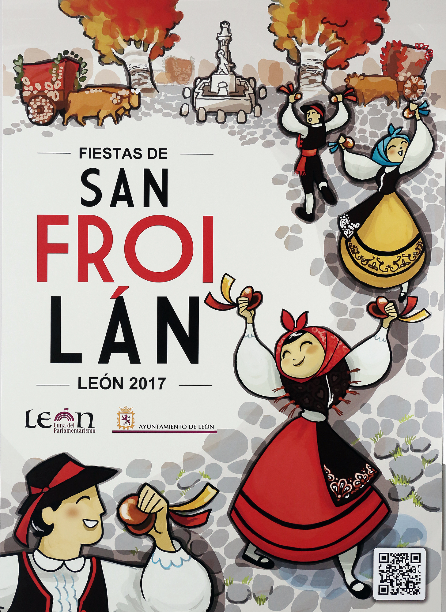 Resultado de imagen de san froilan 2017 leon