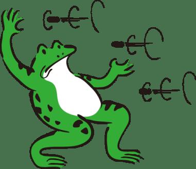 avoidance-frog
