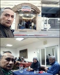 RESTORAN DI HOTEL VICTORIA. JERUSALEM
