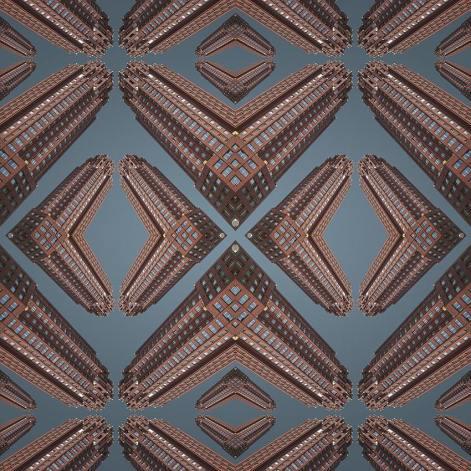 Gargoyle // 100 x 100 cm // Echter Foto-Abzug unter Acrylglas