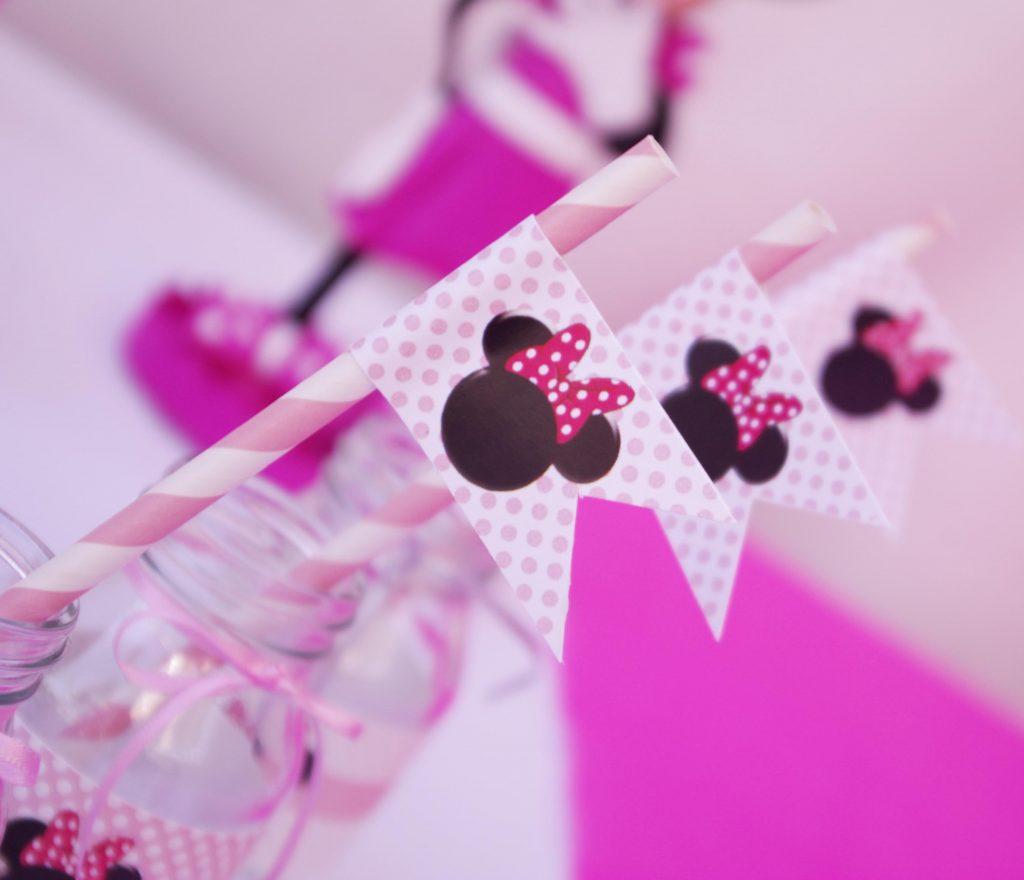 Hazlo Especial  Decoracin cumpleaos de Minnie Mouse