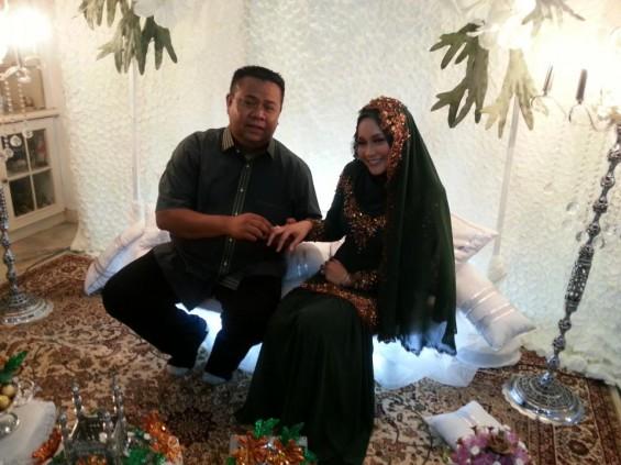 Pertunangan Anne Ngasri dan Mohd Sumali Reduan