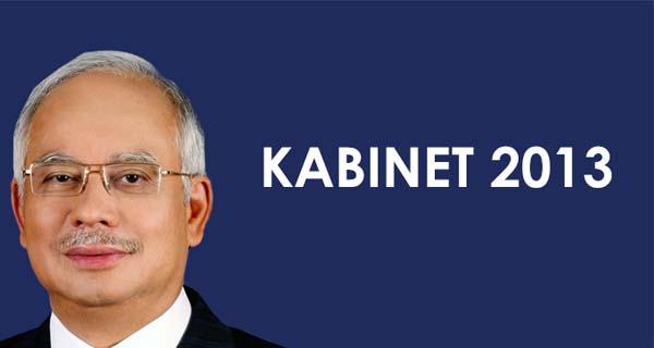 Senarai Menteri Kabinet Malaysia 2013