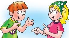 Conversación adecuada familia infantil juvenil