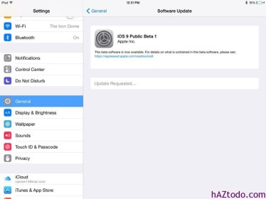 Cómo instalar iOS9 en iPhone y iPad