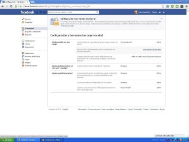 Cómo mejorar privacidad en Facebook