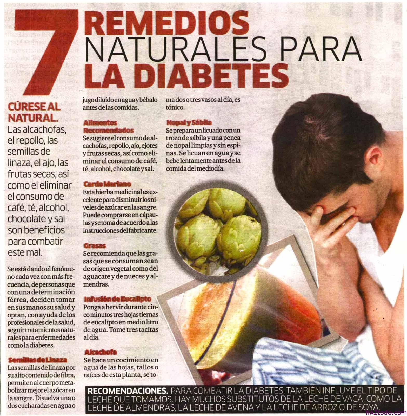 medicamentos naturistas para la diabetes