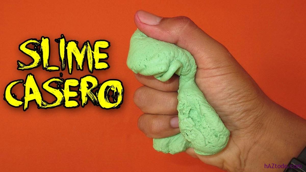Cómo hacer slime, la masa elástica