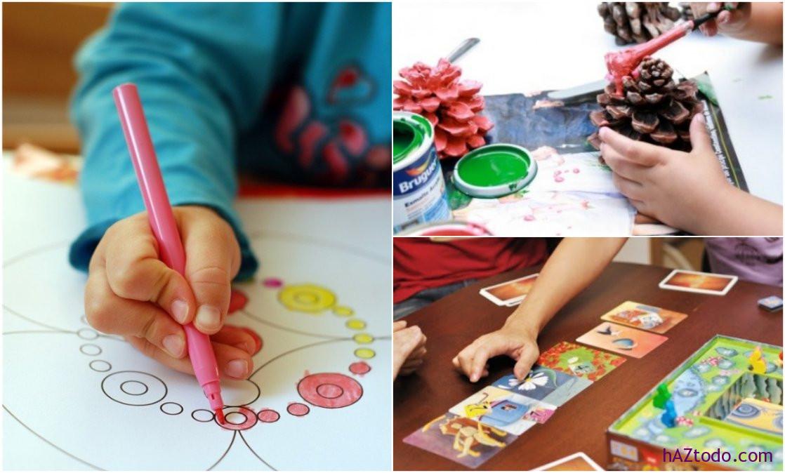 Juegos e ideas creativas para mantener a los niños entretenidos en tiempos de cuarentena