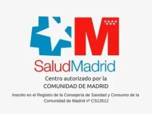 Centro autorizado por laCOMUNIDAD DE MADRID