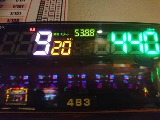 ニューキングハナハナ 5388G BB9 RB20