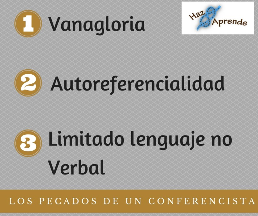 Pecados, comunicador, conferencista, speaker