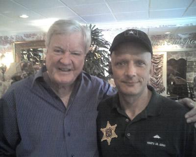Rosco and Deputy Harry!