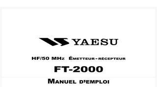 Manuels Yaesu