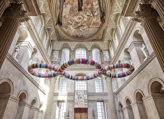 Pistoletto at Blenheim Palace