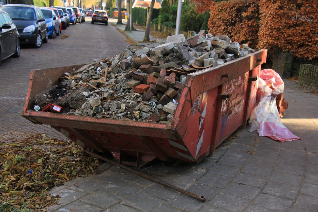 Skip outside Upgrading unmodernised property