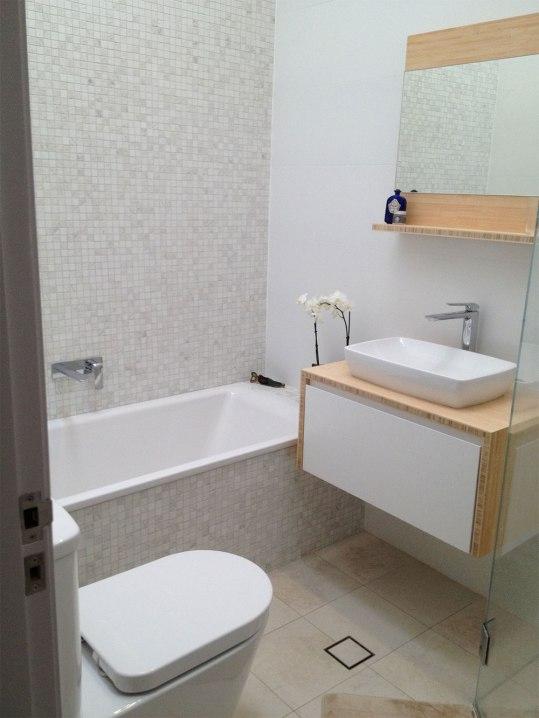 Small Narrabeen Bathroom Makeover   Helen Baumann Design
