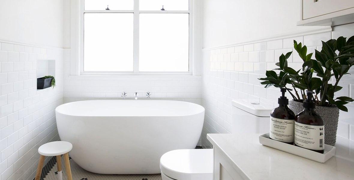 Hamptons Inspired Bathroom Renovation | Helen Baumann Design